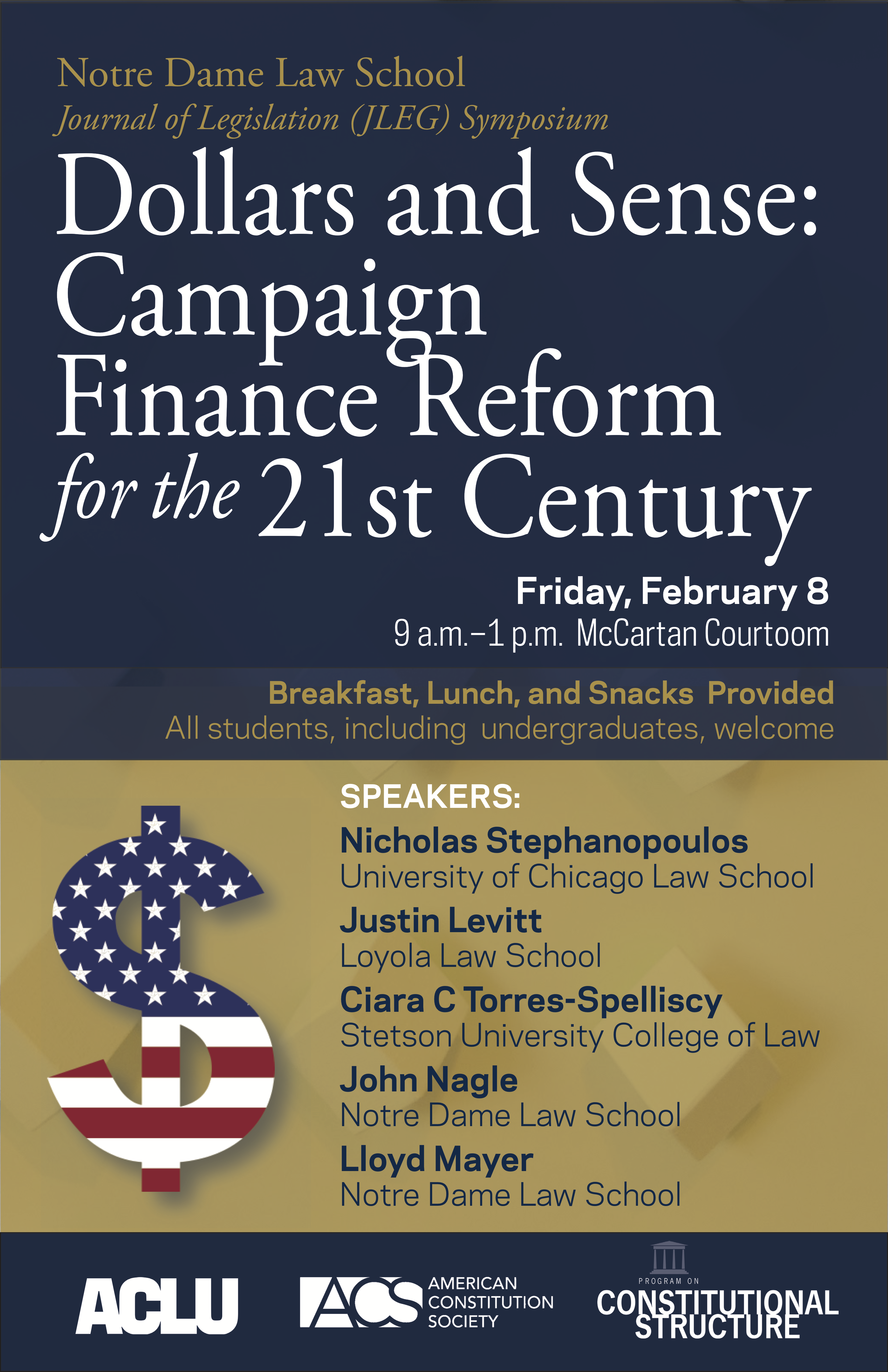 2019 - Dollars and Sense: Campaign Finance Reform for the 21st Century