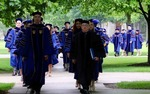 2015 Procession to the Notre Dame Law School Graduation Prayer Service