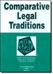Comparative Legal Traditions in a Nutshell. 3rd Edition.
