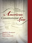 American Constitutional Law: Essays, Cases, and Comparative Notes. 3rd Edition.