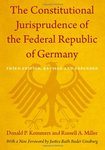 The Constitutional Jurisprudence of the Federal Republic of Germany. 3rd Edition,