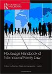 Routledge Handbook of International Family Law by Margaret F. Brinig