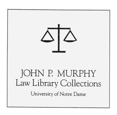 The John P. Murphy Law Library Collections