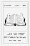 The Harry Fath Family Endowed Law Library Collection