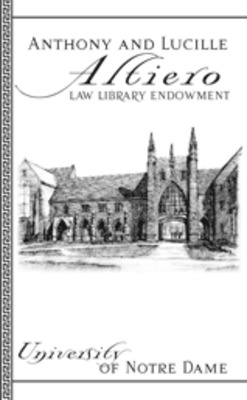 The Anthony and Lucille Altiero Law Library Endowment