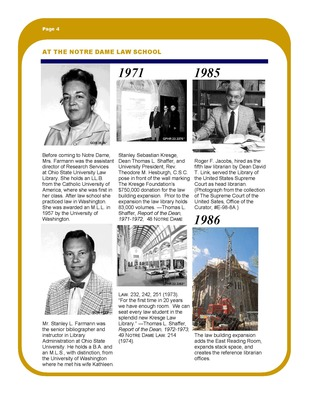 History of the Law Library 1966 - 1986