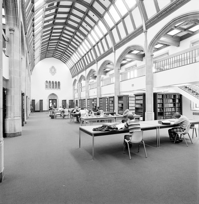 Law Library Main Reading Room 1973