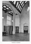 Law Library Northwest Corner of the Main Reading Room c1930