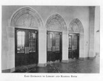 Law Library East Entrance to the Main Reading Room c1930