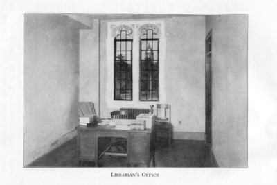Librarian's Office c1930