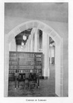 Corner of the Law Library Main Reading Room c1930