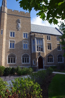 South Entrance, Kresge Law Library