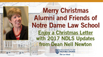 Dean's Christmas Letter 2017 by Notre Dame Law School