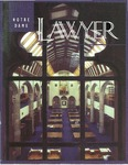 Notre Dame Lawyer - Academic Year 1994-95 by Notre Dame Law School