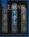 Notre Dame Lawyer - Spring 1997