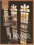 Notre Dame Lawyer - Spring 1998