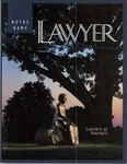 Notre Dame Lawyer - Summer 2000 by Notre Dame Law School