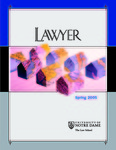 Notre Dame Lawyer - Spring 2005 by Notre Dame Law School