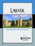 Notre Dame Lawyer - Fall 2005