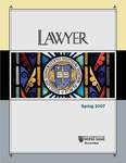 Notre Dame Lawyer - Spring 2007 by Notre Dame Law School