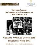Happiness Pursued: A Celebration of Ten Years of the Human Rights Act