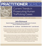 Current Trends in Prosecuting Human Trafficking Cases