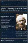 Dignity and Freedom of Speech: An American-German Comparison
