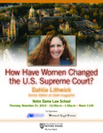 How Have Women Changed the U.S. Supreme Court?