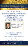 Preservationist Revolutions: A History of American Constitutional Law in Three Movements