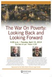 The War On Poverty: Looking Back and Looking Forward