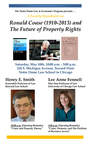 Ronald Coase (1910-2013) and The Future of Property Rights