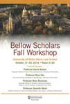 Bellow Scholars Fall Workshop
