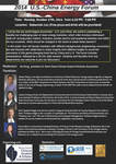 2014 U.S. - China Energy Forum