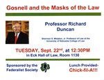 Gosnell and the Masks of the Law