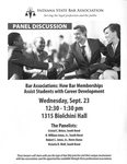 Bar Associations: How Bar Memberships Assist Students with Career Development