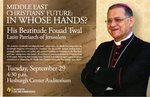 Middle East Christians' Future: In Whose Hands?