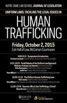 Uniform Laws: Tackling the Legal Issues In Human Trafficking