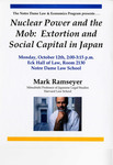 Nuclear Power and the Mob: Extortion and Social Capital in Japan