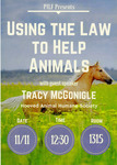 Using the Law to Help Animals