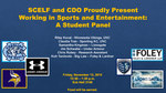 Working in Sports and Entertainment: A Student Panel