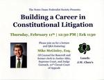 Building a Career in Constitutional Litigation