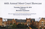 66th Annual Moot Court Showcase