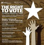 The Right to Vote: Shaping an American Electorate