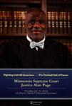 Minnesota Supreme Court Justice Alan Page
