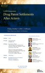 LAMB Symposium: Drug Patent Settlements After Actavis