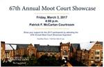 67th Annual Moot Court Showcase