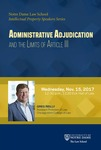 Administrative Adjudication and the Limits of Article III