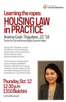 Learning the Ropes: Housing Law in Practice