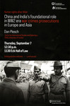 Human Rights after Hitler: China and India's foundational role in WW2 era war crimes prosecutions in Europe and Asia