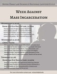 Week Against Mass Incarceration